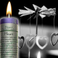 Blessed Herbal Candle - Heart