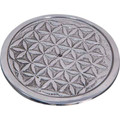 Flower of Life Incense/Cone Holder 3.25""