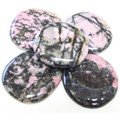 Rhodonite Palm Stone