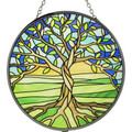 Tree of Life Glass Sun Catcher