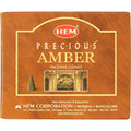 Amber Incense Cones by HEM