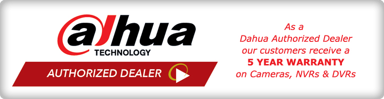 Dahua 5 Year Warranty