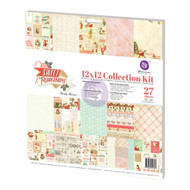 Prima Marketing - 12x12 Collection Kit - Sweet Peppermint  (PM-991357)