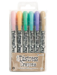 Tim Holtz Distress Crayons Set 5