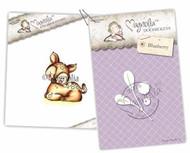 Magnolia Stamps - Stamp & Cutz - Aspen Holidays - Sweet Deer & Blueberry