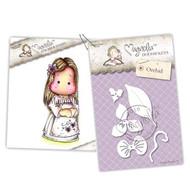 Magnolia Stamps - Stamp & Cutz - Capturing Moments - Singapore Tilda & Orchid
