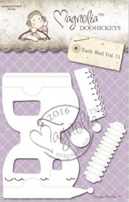 Magnolia Stamps DooHickey - Early Bird - Camper