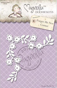 Magnolia Stamps DooHickey - Forget Me Not Corner