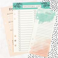 Prima Marketing -My Prima Planner - Colored Dry Erase Board Inserts