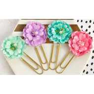 Prima Marketing - Planner Flower Paper Clips - Candy Shoppe