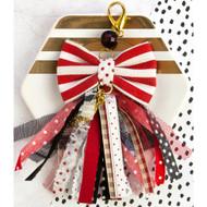 Prima Marketing - Planner Bow Tassel W/Clasp  - Pretty N Rouge