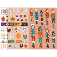 Prima Marketing Planner Monthly Stickers -November- By Julie Nutting