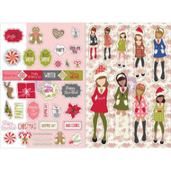 Prima Marketing Planner Monthly Stickers -December- By Julie Nutting