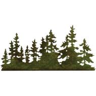 Sizzix Thinlits Dies by Tim Holtz - Tree Line (661604)