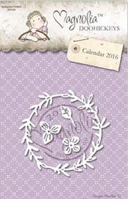 Magnolia Stamps DooHickey - Rosemary Wreath