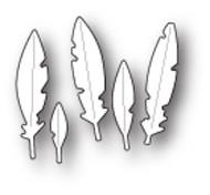 Poppystamps Craft Die - Tiny Feathers Craft Die (PS-1789)