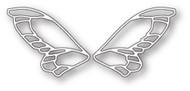 Poppystamps Craft Die - Frilly Faerie Wings Craft Die (PS-1772)