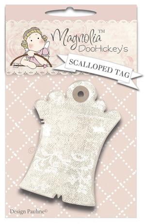Scalloped Tag