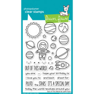 Lawn Fawn - Clear Stamps - 4x6 - Out Of This World (LF1330)