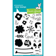 Lawn Fawn - Clear Stamps - 4x6 - Fab Flowers (LF1332)