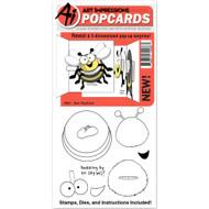Art Impressions - Popcard - Bee (AI4857)