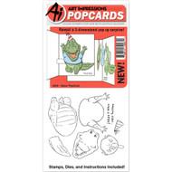 Art Impressions - PopCard - Gator (AI4858)