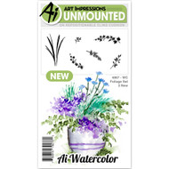 Art Impressions - Watercolor Cling Rubber Stamp - Foliage 2 (AI4867)