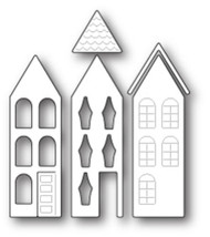 Poppystamps Craft Die - Garden House