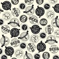 7Gypsies - 12 x 12 Scrapbook Paper - Brew Labels On Ivory