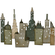 Sizzix Thinlits Dies By Tim Holtz - Cityscape, Metropolis (TH661804)
