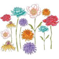 Sizzix Framelits Dies By Tim Holtz - Flower Garden & Mini Bouquet