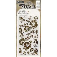 Tim Holtz Layering Stencil - Floral - THS077