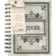"""7 Gypsies - Architextures Spiral Bound Ledger Book 5""""X7"""""""