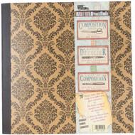 """7 Gypsies - Architextures Kraft Composition Book 12""""X12"""""""