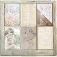 "7 Gypsies Architextures Cardstock 12""X12"" - Old Window"