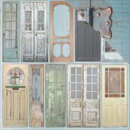 "7 Gypsies Architextures Cardstock 12""X12"" - Painted Doors"