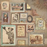 "7 Gypsies Architextures Cardstock 12""X12"" - Art Wall"