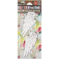 7 Gypsies Architextures Findings Adhesive Embellishments -Angel Wings