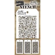 Tim Holtz Mini Layering Stencil - Set 26