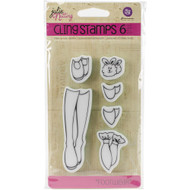 Prima Marketing - Cling Stamp - Footwear
