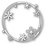 Poppystamps Craft Die - Scribble Flower Circle