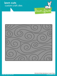Lawn Fawn - Dies - stitched windy backdrop (LF1425)