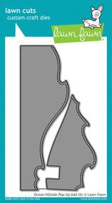 Lawn Fawn - Dies - ocean hillside pop-up add-on ( LF1437)