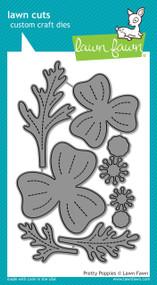 Lawn Fawn - Dies -pretty poppies (LF1434)