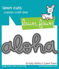 Lawn Fawn - Dies - Scripty aloha (LF1431)