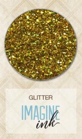 Blue Fern Studios - Imagine Ink - Glitter - Golden Rod