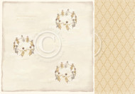 Pion Pion Design - Long ago - 12 X 12 - Angels Singing