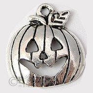 metal charm pumpkin