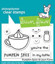 Lawn Fawn 3 x 2 Clear Stamp - Pumpkin Spice (LF1462)