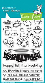 Lawn Fawn 4 x 6 Clear Stamp - Forest Feast (LF1464)
